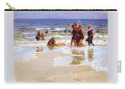 At The Seashore Edward Henry Potthast Carry-all Pouch