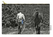 At The Show Blue Ribbon Carry-all Pouch