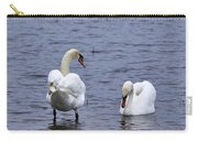 At Your Service. Mute Swan Carry-all Pouch