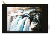 Waterfall Scene For Mia Parker - Sutcliffe L A S Carry-all Pouch