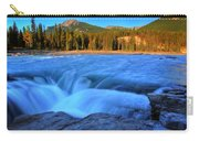 Athabasca Falls In Jasper National Park Carry-all Pouch