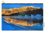 Athabasca River Glow Carry-all Pouch