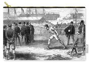 Athletics: Shot Put, 1875 Carry-all Pouch