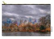 Atlanta City Skyline Georgia Usa Hdr Carry-all Pouch