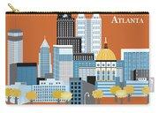 Atlanta Georgia Horizontal Skyline Carry-all Pouch
