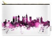 Atlanta Georgia Skyline Pink Carry-all Pouch