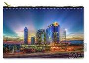 Atlanta Midtown Atlantic Station Starburst Atllanta Georgia Art Carry-all Pouch
