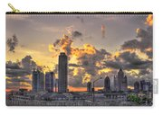 Atlanta Sunrise On Atlantic Station Commons And Midtown Atlanta Carry-all Pouch by Reid Callaway