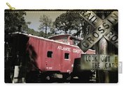 Atlantic Coast  Line Railroad Carriage Carry-all Pouch
