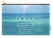 Atlantic Ocean Carry-all Pouch
