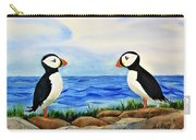Atlantic Puffins Carry-all Pouch