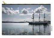 Atlantis - A Three Masts Vessel In Port Mahon Crystaline Water Carry-all Pouch