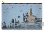Atmospheric Hala Sultan Tekke Reflection At Larnaca Salt Lake Carry-all Pouch
