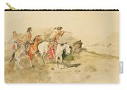 Attack On The Muleteers Carry-all Pouch