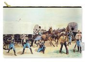Attack On The Supply Train 1885 Carry-all Pouch