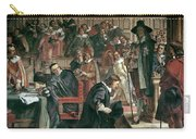 Attempted Arrest Of 5 Members Of The House Of Commons By Charles I Carry-all Pouch