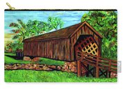 Auchumpkee Creek Covered Bridge Carry-all Pouch