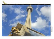 Audience Sculpture And The Cn Tower Carry-all Pouch