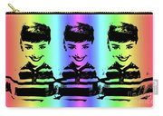 Audrey Hepburn Art Carry-all Pouch