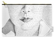 Audrey Hepburn In Her Own Words Carry-all Pouch