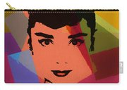 Audrey Hepburn Pop Art 1 Carry-all Pouch