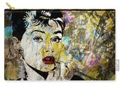 Audrey Hepburn Tribute  Carry-all Pouch