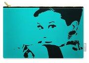 Audrey Light Blue Carry-all Pouch