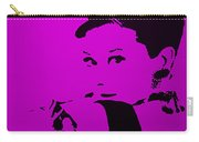 Audrey Purple Carry-all Pouch
