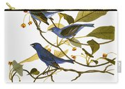 Audubon: Bunting, 1827-38 Carry-all Pouch