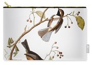 Audubon: Chickadee, (1827-1838) Carry-all Pouch