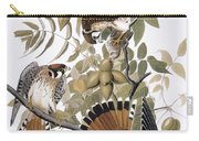 Audubon: Kestrel, 1827 Carry-all Pouch