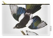 Audubon: Magpie Carry-all Pouch