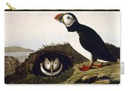 Audubon: Puffin, (1827-38) Carry-all Pouch