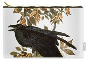 Audubon: Raven Carry-all Pouch by Granger