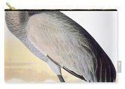 Audubon Sandhill Crane Carry-all Pouch