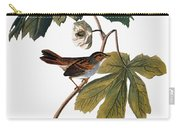Audubon: Sparrow, 1827-38 Carry-all Pouch