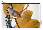 Audubon: Sparrow Carry-all Pouch