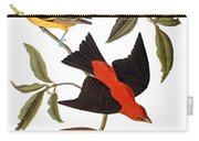 Audubon: Tanager, 1827 Carry-all Pouch