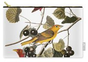 Audubon: Tanager Carry-all Pouch