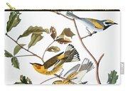Audubon: Warbler, (1827-1838) Carry-all Pouch