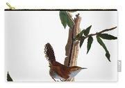 Audubon: Wren, (1827-38) Carry-all Pouch by Granger