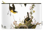 Audubon: Yellow Chat, (1827-38) Carry-all Pouch