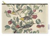Audubon's Warbler Carry-all Pouch