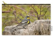 Audubon's Yellow Rumped Warbler Carry-all Pouch