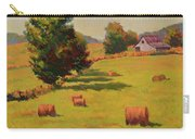 August Hay Field Carry-all Pouch