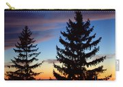 August Pine Clouds Carry-all Pouch