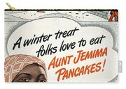 Aunt Jemima Ad, 1948 Carry-all Pouch