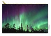 Aurora Boreale In Lapponia Carry-all Pouch