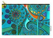 Aurora Borealis Green Carry-all Pouch