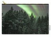 Aurora Borealis Over Finland Carry-all Pouch